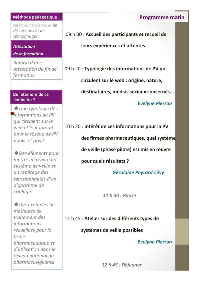 uUne  typologie  des   informaIons  de  PV   qui  circulent  sur  le   web  et  leur  intérêt...