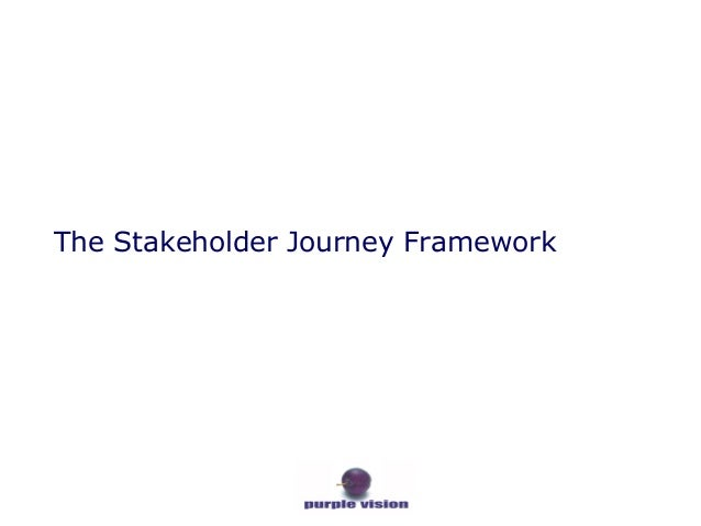 The Stakeholder Journey Framework