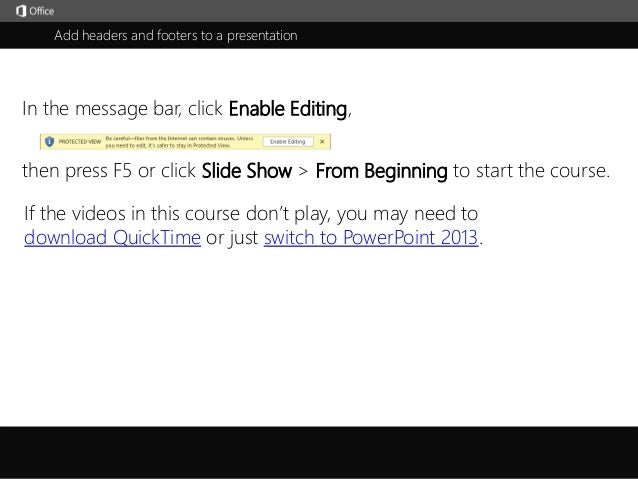 how to add headers in outlook 2013