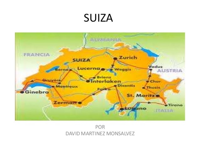 SUIZA POR DAVID MARTINEZ MONSALVEZ