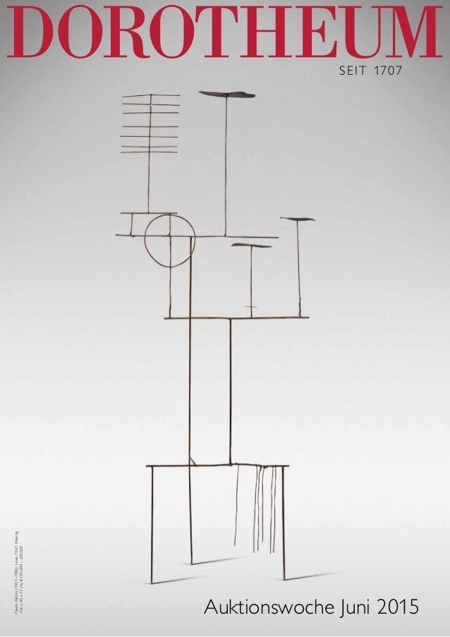 Seit 1707 Auktionswoche Juni 2015 FaustoMelotti(1901–1986),Linee,1961,Messing, 116x40x17cm,€150.000–200.000