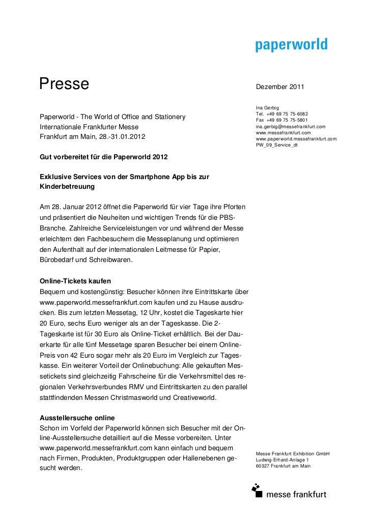 Presse                                                                   Dezember 2011                                    ...