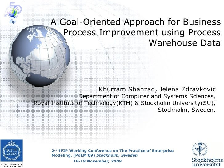 Khurram Shahzad, Jelena Zdravkovic Department of Computer and Systems Sciences, Royal Institute of Technology(KTH) & Stock...