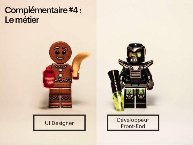 Complémentaire #4 : Le métier - complémentaires sur leurs métiers (ui design / service designer, DA / Market, UX / Scrum M...