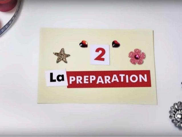 # La préparation Les règles à respecter pour que les échanges soient productifs sont :