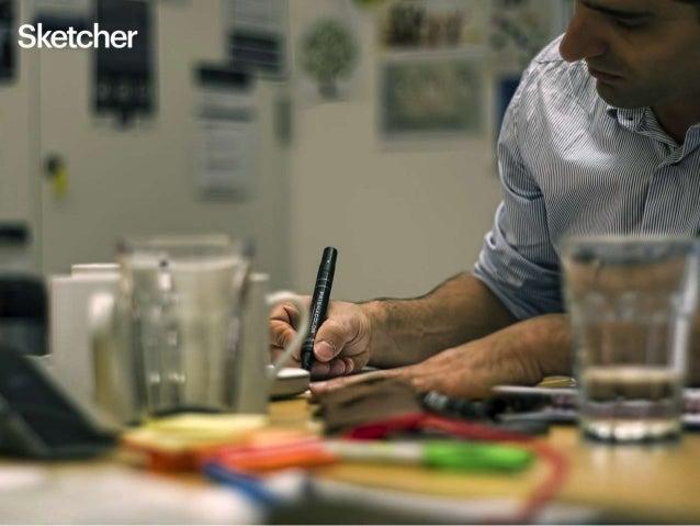 # Sketcher Pour les phases d'idéation pure, un tableau blanc, un stylo feutre effaçable et des post-its suffisent. L'objec...