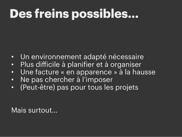 # Des freins possibles… Mais il y a aussi quelques inconvénients (enfin surtout des idées reçues) qui peuvent vous empêche...