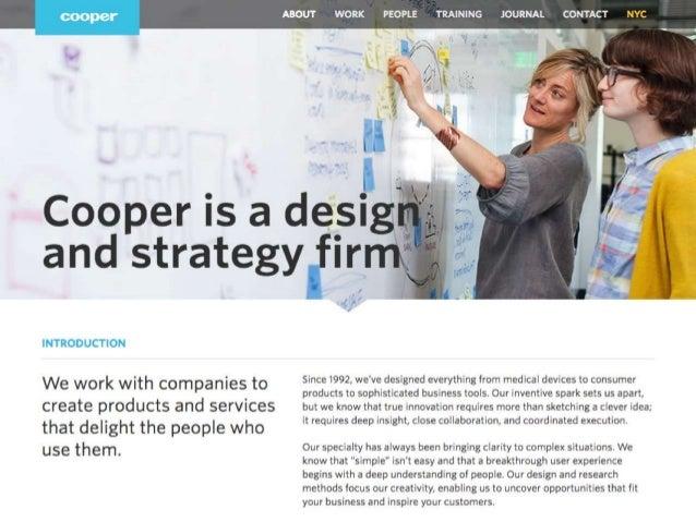 De l'autre côté de l'Atlantique, le concept est déjà couramment employé au quotidien par les équipes de Cooper Design, une...