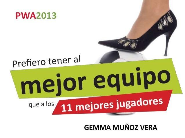 PWA2013          GEMMA MUÑOZ VERA