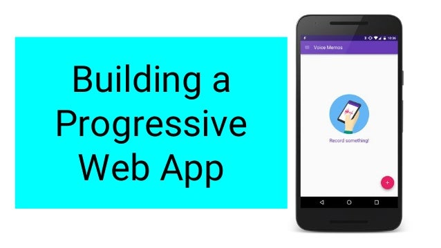 Building a progressive web app for House construction app