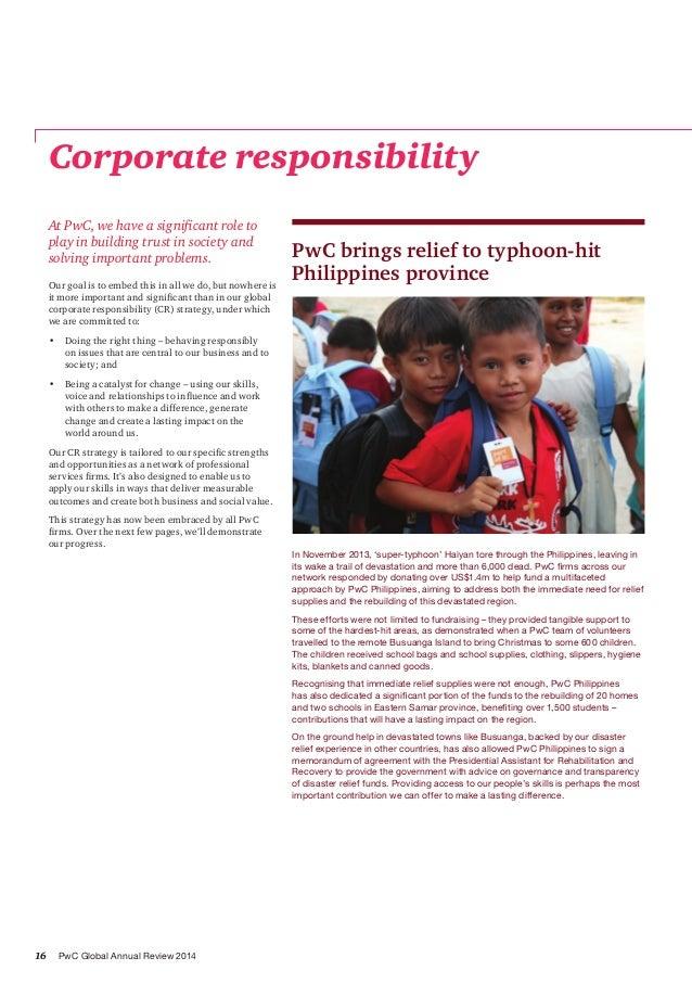 Rapport annuel PwC 2014
