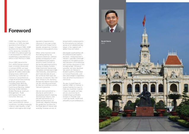 Doing Business in Vietnam - by HSBC