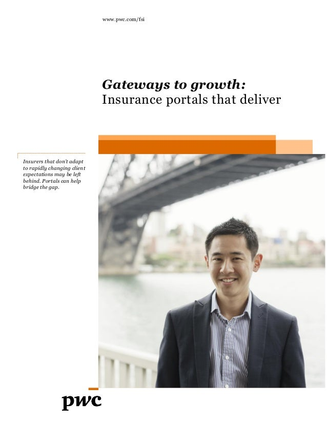 Insurers that don't adapt to rapidly changing client expectations may be left behind. Portals can help bridge the gap. www...