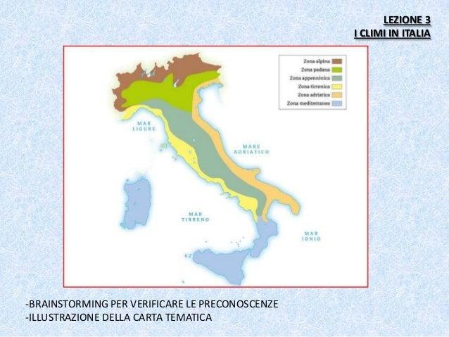 Italia Climatica Cartina.Pw Cavallo
