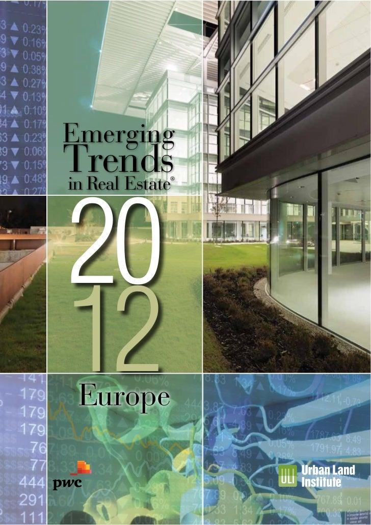 EmergingTrends20in Real Estate             ®12 Europe