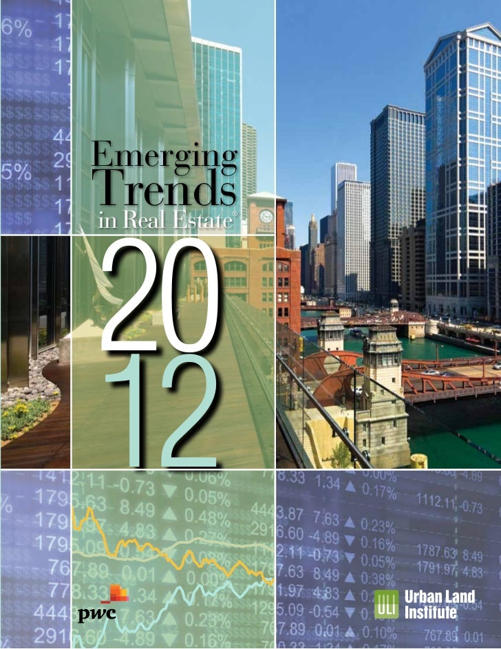 Emerging     Trends     20     in Real Estate                  ®1512     12 9 6 3 0-3