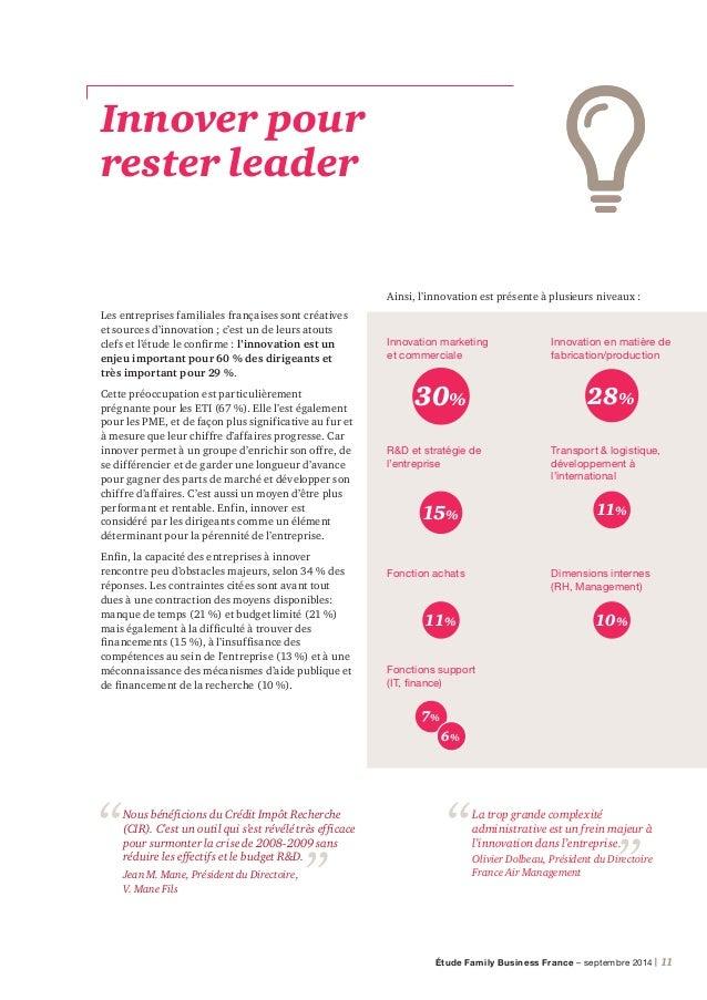 12 | PwC Témoignage de dirigeant Financer le développement 3 questions à Olivier Dolbeau, Président-Directeur Général, Fra...