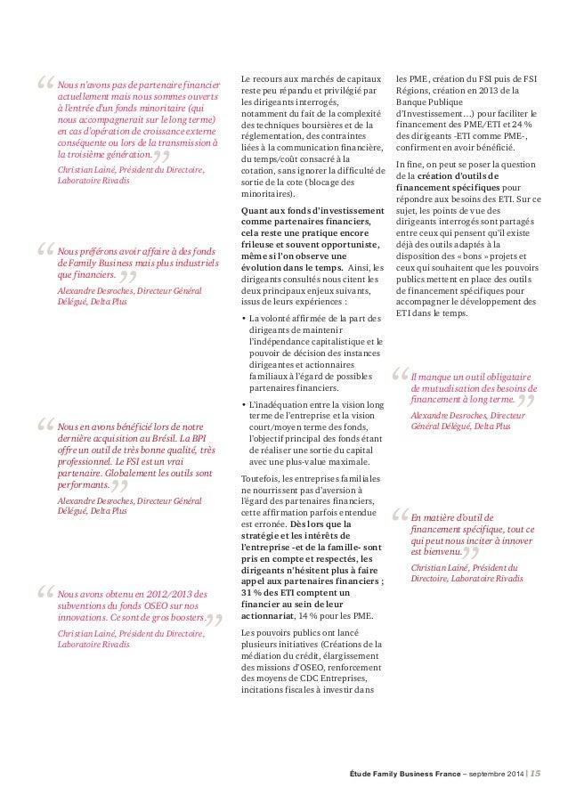 16 | PwC Témoignage de dirigeant Fidéliser les talents 3 questions à Christian Lainé, Président du Directoire, Laboratoire...