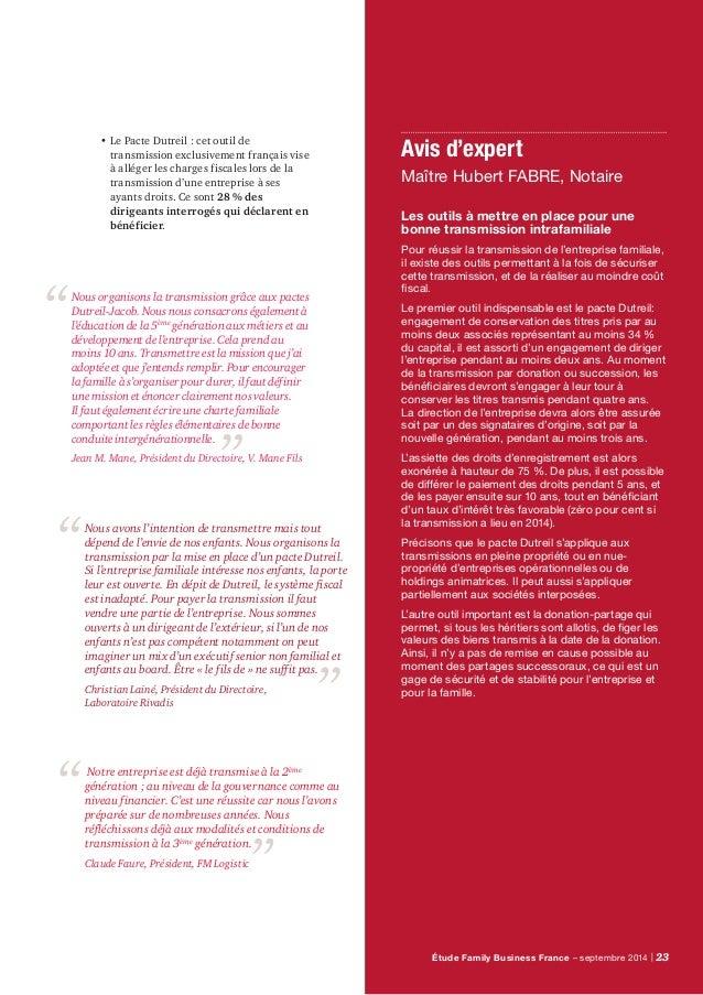 24 | PwC Méthodologie L'édition France est réalisée en miroir de la Family Business Survey, étude globale de PwC réalisée ...
