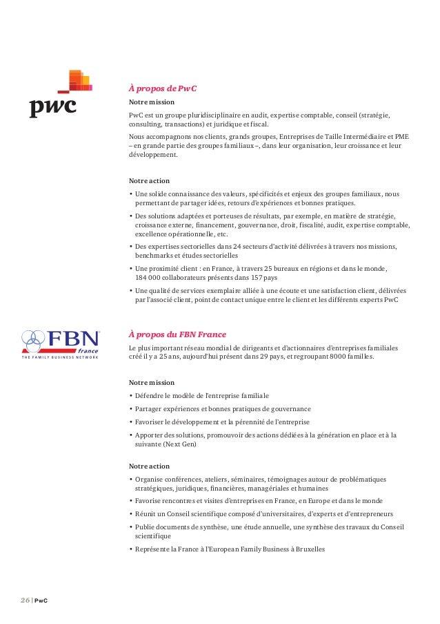 Étude Family Business France – septembre 2014 | 27