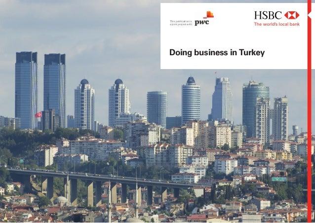 Pwc+hsbc doing business in_turkey 2011