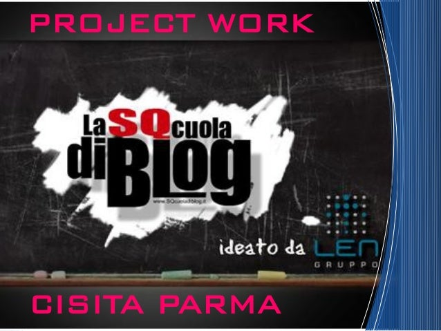 CISITA PARMA PROJECT WORK