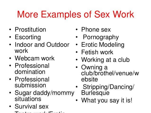 Example of phone sex