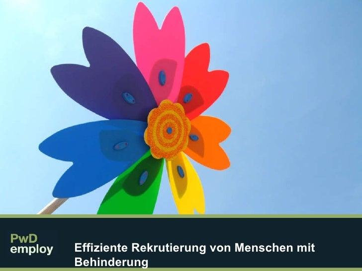 PwD Module 6 Germany