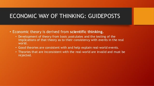 economic guideposts Sound economic reasoning teaches   both of sennholz's claims were my guideposts  economic reasoning is essentially.