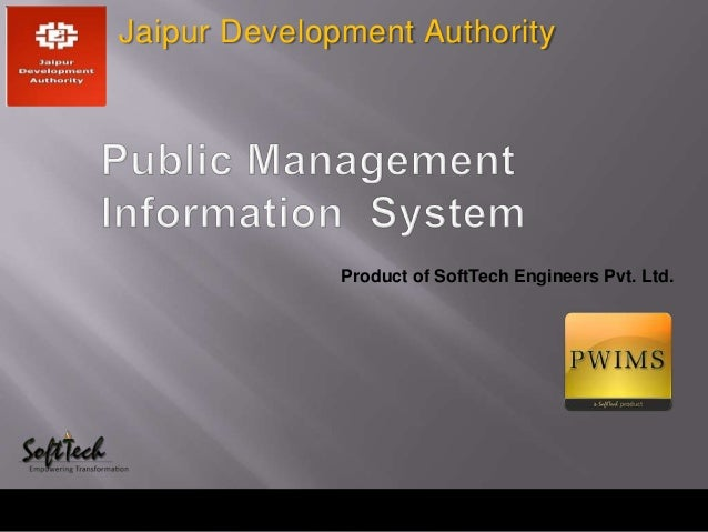 Product of SoftTech Engineers Pvt. Ltd.Jaipur Development Authority