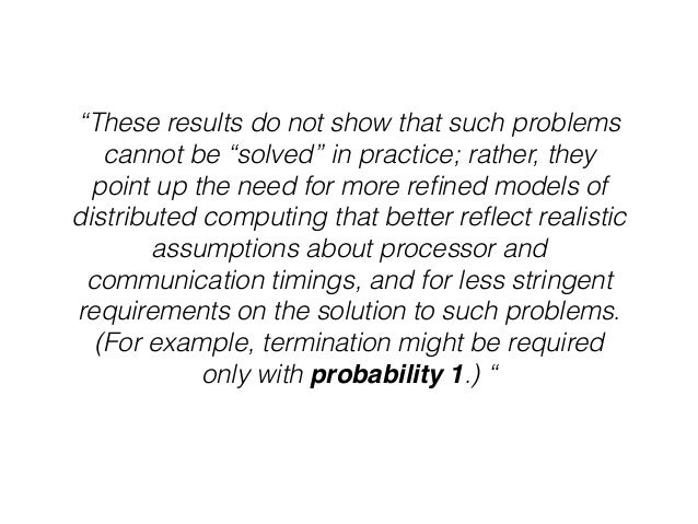 """! """"These results do not show that such problems cannot be """"solved"""" in practice; rather, they point up the need for more re..."""