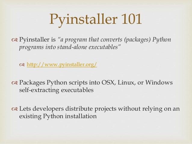 Pwnstaller