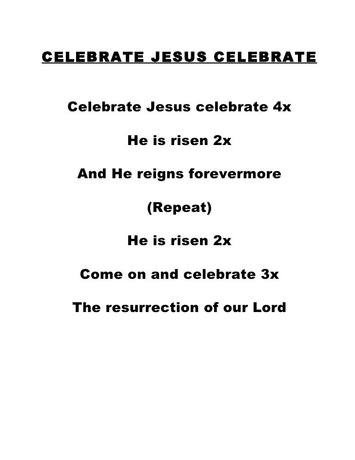 Don Moen – Celebrate, Jesus, Celebrate Lyrics | Genius Lyrics