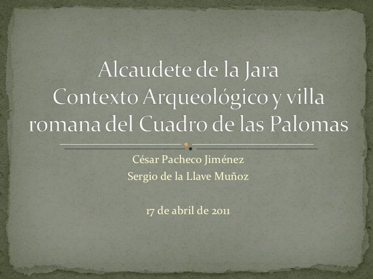 arqueologia alcaudete abril 2011