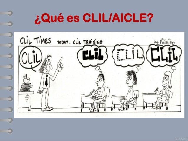 ¿Qué es CLIL/AICLE?