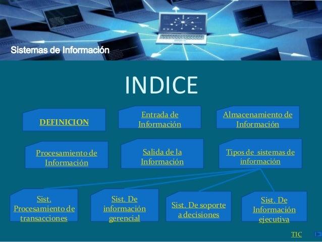 Sistemas de Información y Tecnologías de la Información Slide 3