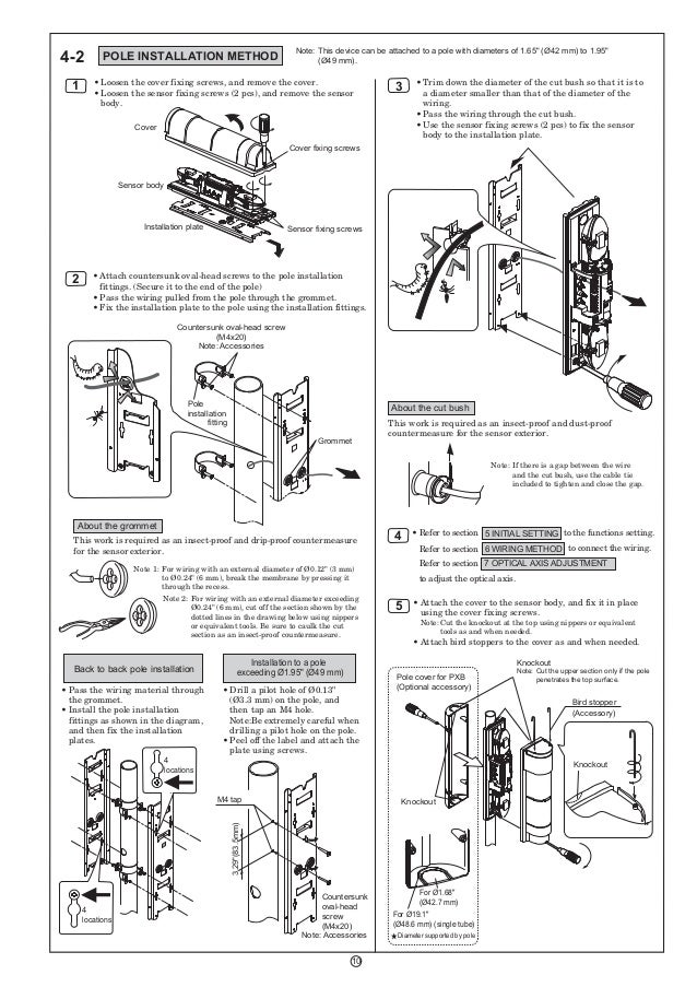 Takex PXB-100ATC Instruction Manual