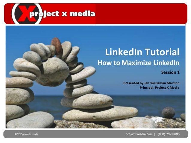 LinkedIn Tutorial                        How to Maximize LinkedIn                                                       Se...
