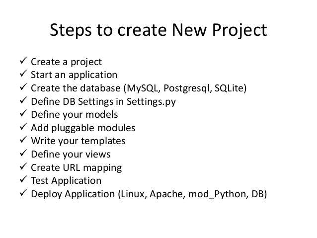 What Django generates mysite/ manage.py mysite/ django-admin.py startproject mysite __init__.py settings.py urls.py wsgi.p...