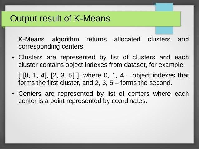 Pyclustering tutorial - K-means