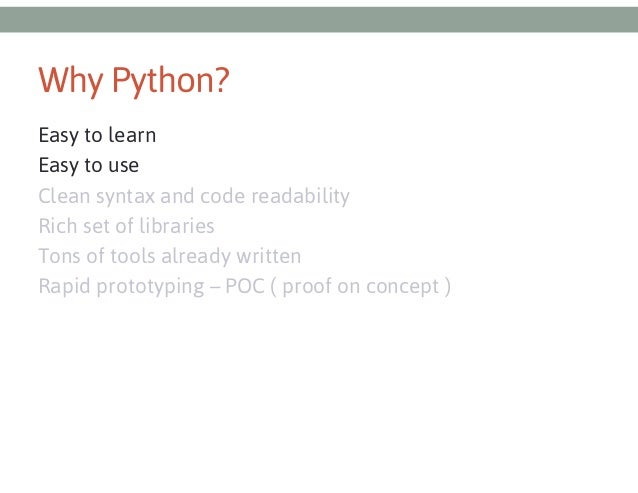 Pycon - Python for ethical hackers