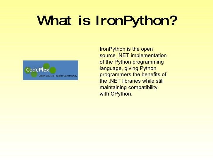 Py Con 2009 Pumping Iron Into Python
