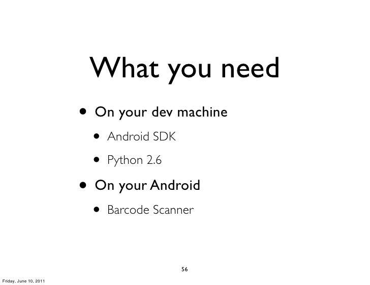 Pycon2011 android programming-using_python