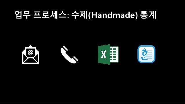 업무 프로세스: 수제(Handmade) 통계