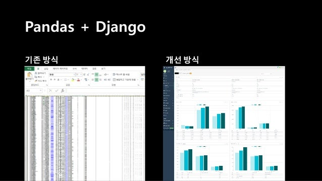 • Data Analysis Library • 엑셀 읽고 쓰기 쉬움 • 엑셀 기능을 대체 할 수 있음 • Open Source • Easy to Use ? ?