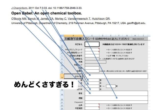 ここまでのまとめ • PyOpenXLを使うことで、既存の Excelファイルをテンプレートとした入 力作業を自動化できる • 時間の節約 • 無駄な作業からの開放