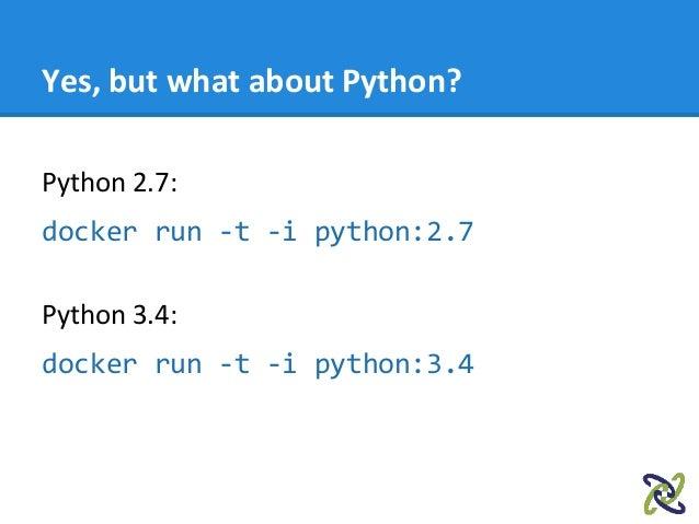 docker python 3 7