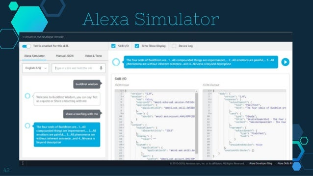 Alexa enabled smart home programming in Python - PyCon India