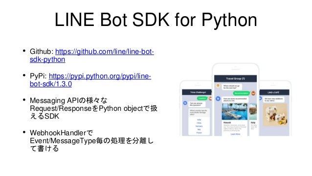 Pip Install Line Bot