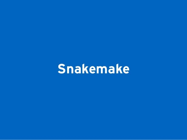 Snakemake